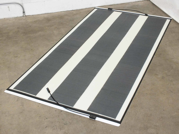 "SoloPower 7' (86.75"") Flexible Solopanel Thin CIGS Solar Panel BIPV - MC4"