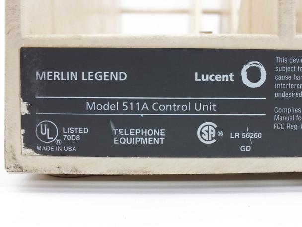 Lucent 511A Control Unit Merlin Legend Avaya AT&T - Phone System PBX 108059304