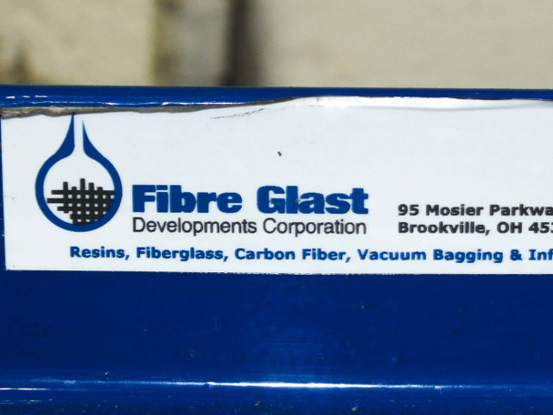 Fibre Glast Large A Frame with Assorted Rolls