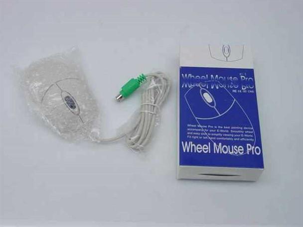 Logitech SYM1320 2-Button PS/2 Wheel Mouse Pro - New Open Box