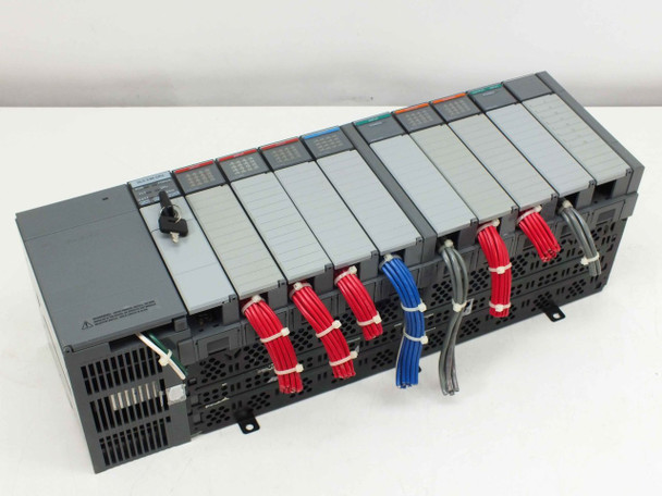 Allen-Bradley 1746-A10 SLC 500 I/O Automation System 10-Slot Rack with Modules