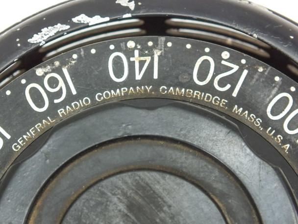General Radio V5H  Variac Auto Transformer PRI 230VAC SEC 0-260VAC