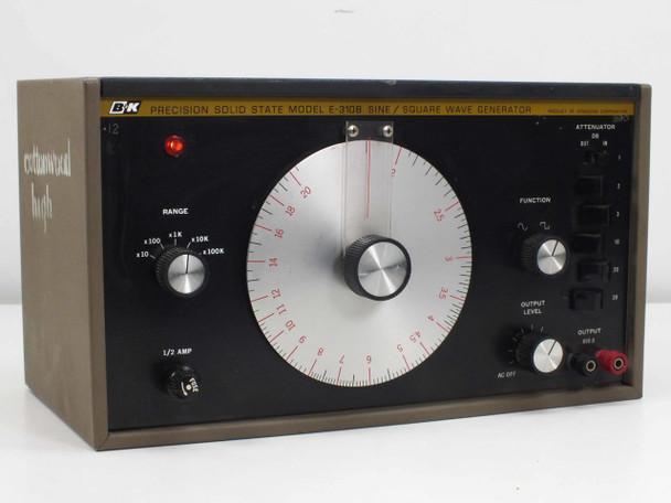 B&K Precison 8500 E-310B Signal Generator - Solid State Sine/Square Wave