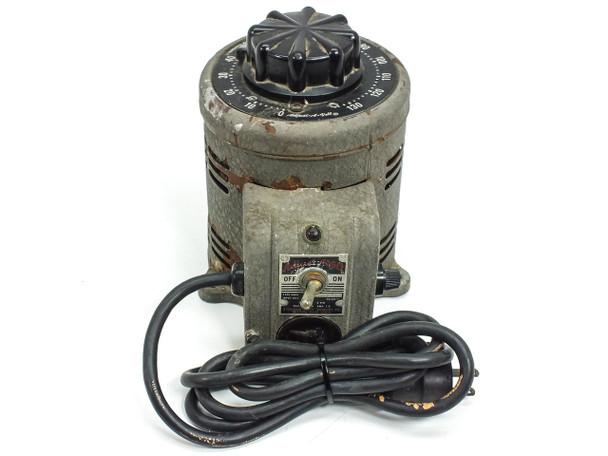 STACO 500B Adjust-A-Volt 140VAC 7.5A Power Supply