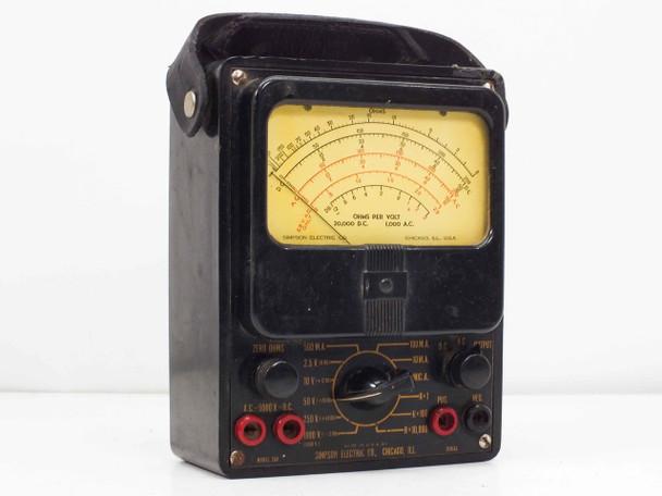 Simpson Model 260-1  Series 1 Analog VOM Multimeter VINTAGE