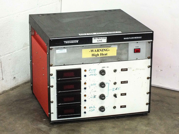 Technics Mass Flow Module Chassis Cabinet PE-II GM - AS IS