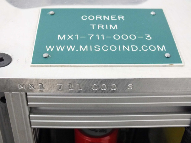 """Custom Corner  Trimmer for Plastic Sheets 14.5"""" Wide with Various Components"""