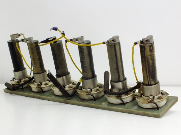 Lot of 6  Solitron 7846 C 664 Solid State Rectifier with Tube Sockets and Board