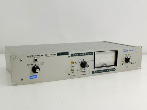 Riber JBA I2 Pressure Gauge Controller - Vacuum Sputtering Deposition Chamber