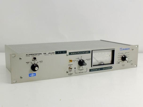 Riber JBA I2 Vacuum Pressure Gauge Controller for Sputtering Deposition Chamber