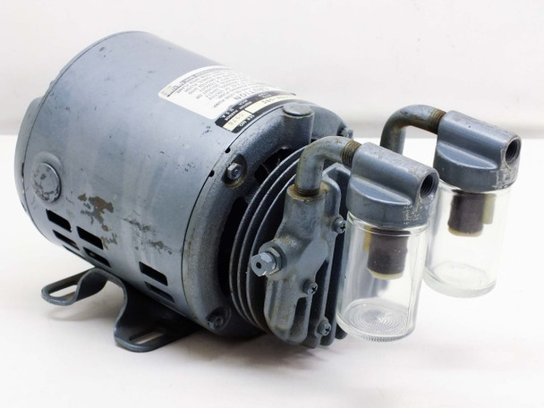 Gast 0211-103A-G8C Vacuum Pump with 1/6 HP Ph-1 115 VAC Motor