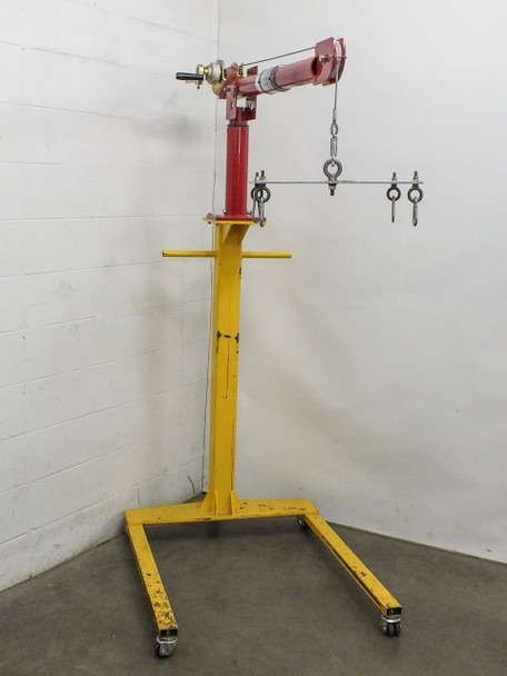 Thern 5122  Portable Davit Crane with Wheel Base Option