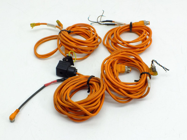 Lumberg ASB2 (Lot 4) Damaged Automation Cables - M12 4-Pole / M8 Splitter
