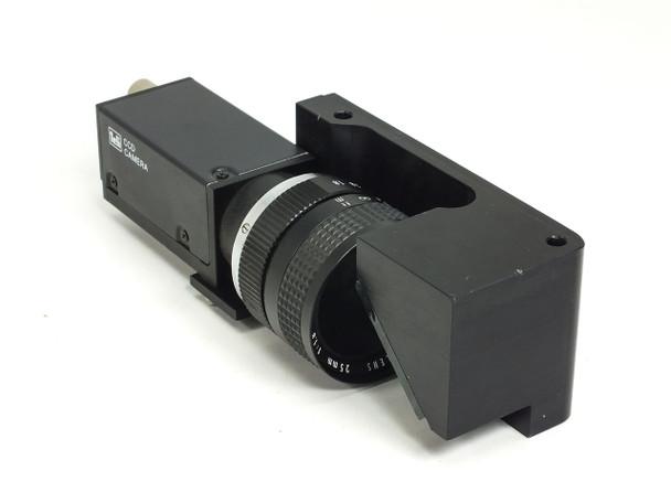 Teli CS8420 Tokyo Electronics TV0908A0 CCD Camera DC 12V 21A with Mirror Mount