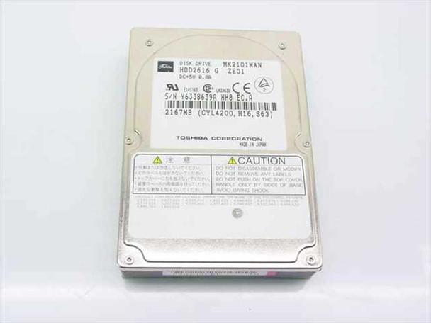 Toshiba MK2101MAN 2167MB Laptop Hard Drive - PATA / IDE Connector - HDD2616