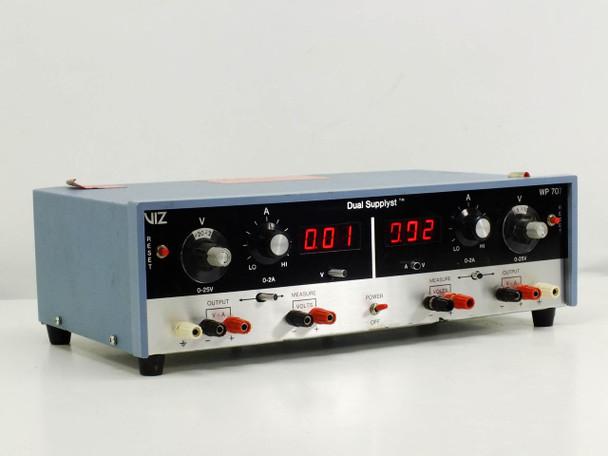 VIZ WP 707 DC Power Supply 0-25V 2A - Dual Supplyst