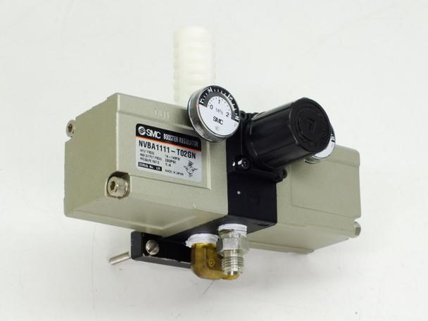 SMC NVBA1111-T02GN Booster Regulator 14~140 PSI 1:4 Ratio