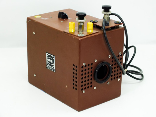 Oriel 7292 200W Arc Lamp with USH-200DP Mercury Hg Bulb - Tested WORKING