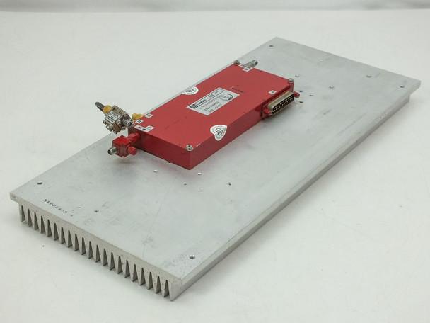 Varian VZU-3088SS Microwave Device RF Klystron Satcom 1-000772-00 - w/ Heatsink