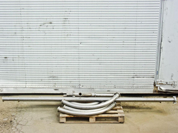 """Stainless Steel 2 3/4""""  Pipes"""