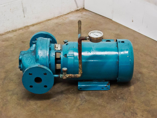 Bell & Gossett 1-1/2x7B 70GPM Circulator Pump 5HP 3600RPM 208~230/460 Volt AC