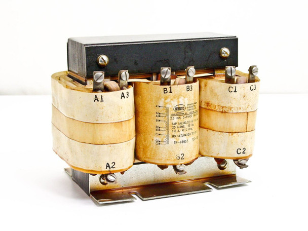 Trenco TR-16953 3-Phase 2mH Inductor Transformer - 40Amp - TEC-180