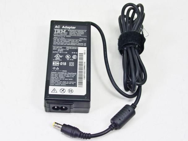 IBM 92P1021 16VDC 4.5 Amp AC Barrel Plug AC Adapter for Laptops - DCWP CM-2