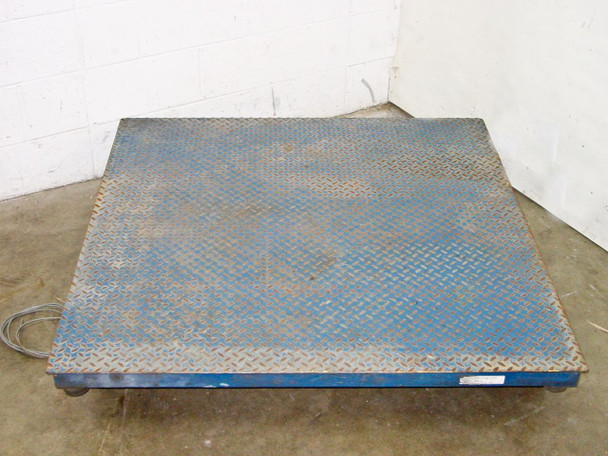 Totalcomp T4X4-6K Totalcomp T4X4-6K Class 3 Scale platform 4 Foot by 4 Foot w/o Display - AS-IS