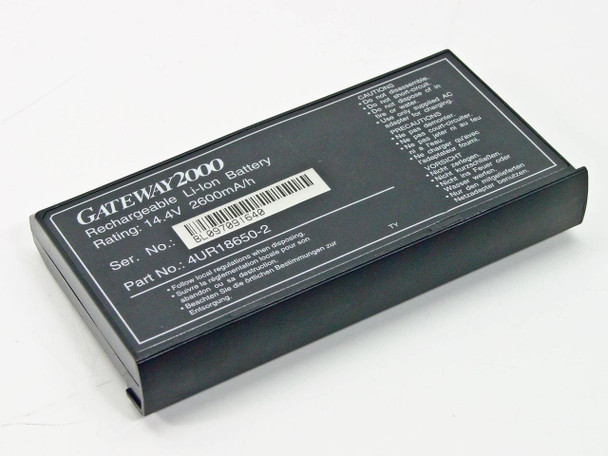Gateway 4UR18650-02 2000 Li-Lon Battery 14.4V -AS-IS / UNTESTED