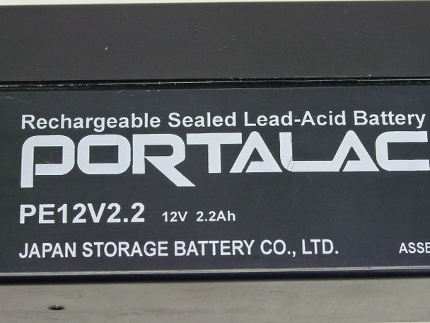 Kronos 8600670-001  Rechargeable Sealed Lead-Acid Battery