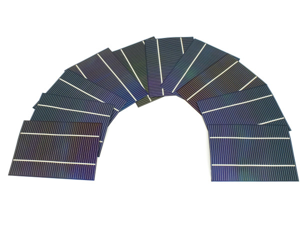 "Solopower SP3 1.25 Watt 5""x3.75"" Stainless Steel Flex CIGS Solar Cell QTY 10"