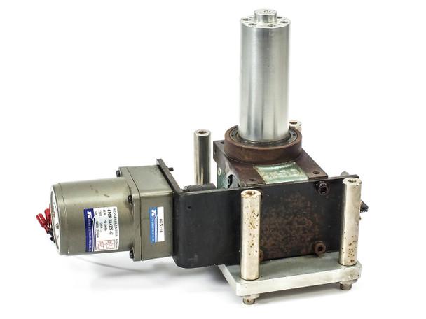 Tung Lee 4RK25GN-C Reversible Motor w/ 1U-211-008-P160 Indexing Drive