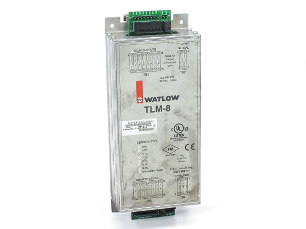 Watlow TLM-8 Thermal Limit Monitor Type K T/C 100 to 1205°C Sensor