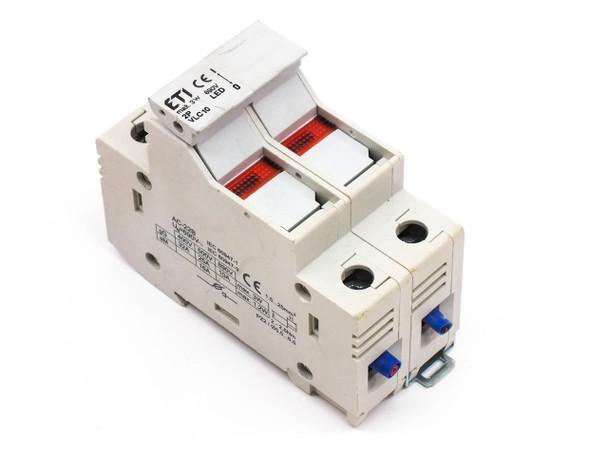 ETI VLC10 2-Pole Fuse Holder/ Disconnector AC-22B 3W 690V