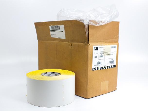 "Zebra 10002807-1 4"" x 8"" Barcode Printer Labels 600 Per Unit - Box of 4 Rolls"