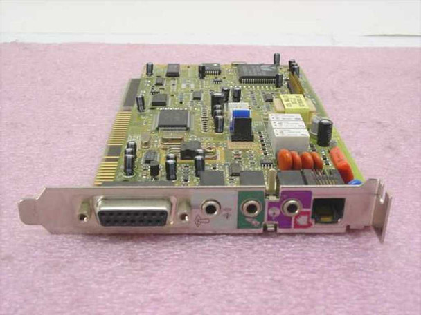 Aztech 138-MMSN855 16-Bit ISA Sound Card / Modem with Game Port - Tested GOOD