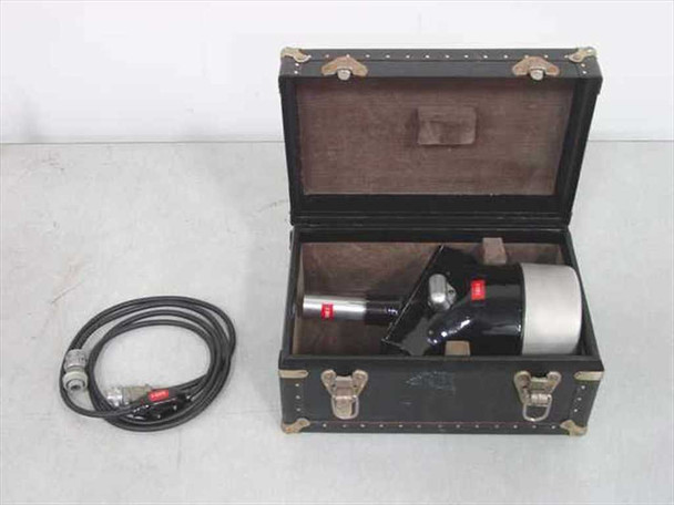 Vintage Camera Chronograph View with Case and Cord