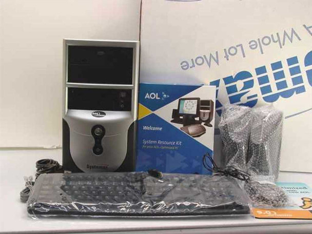 Systemax AOL Optimized PC tower w/accessories in box Syx-651M03