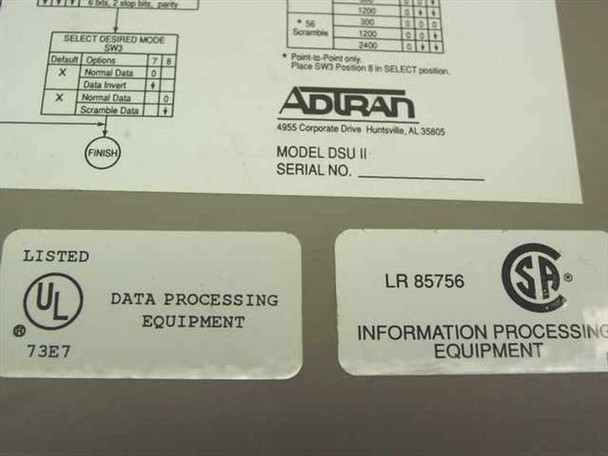 Adtran PRI Modem (DSU II)