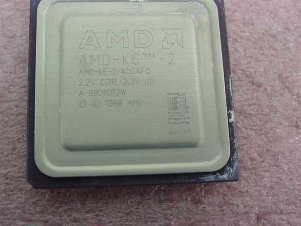 AMD 400mhz Socket /Super 7 (K6-2/400AFQ)