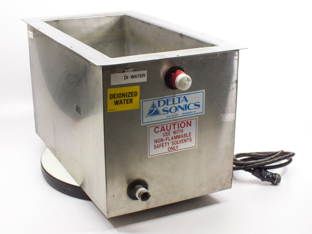 "Delta Sonics DT1021 Ultrasonic Cleaning Tank 21"" x 10"" x 10"" - AS-IS"