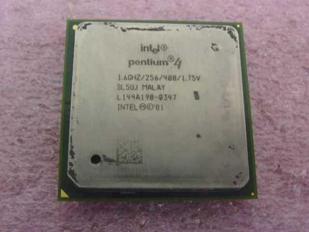 Intel SL5UJ P4 1.60 Ghz Pentium 4 Socket 478 Processor 256 KB Cache 400 Mhz Bus