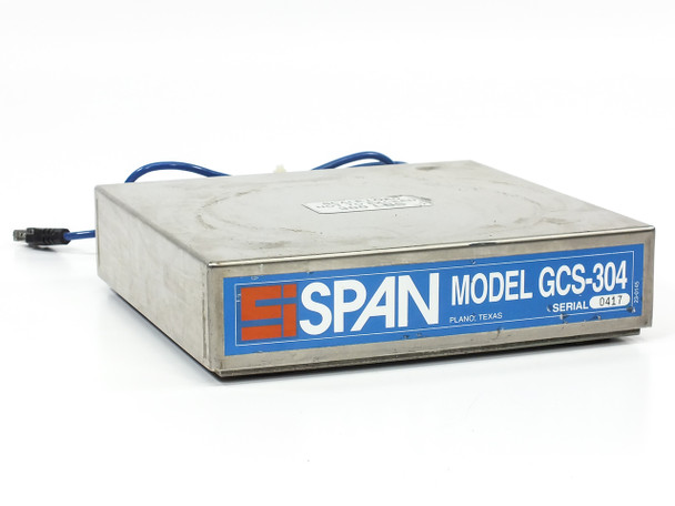 SPAN GCS-304 Gas Cylinder Scale 300 LBS SAM-305 Amplifier - No Terminal AS-IS