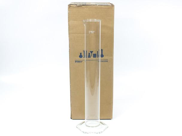 Corning 2962-1L Pyrex 1L Glass Hydrometer Hex Base Cylinder Laboratory Glassware