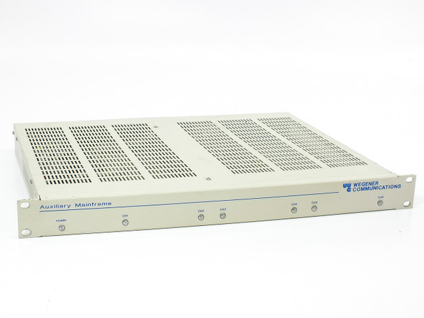 "Wegener Communications 1851-01 Auxiliary Mainframe - 19"" 1U Rackmount"