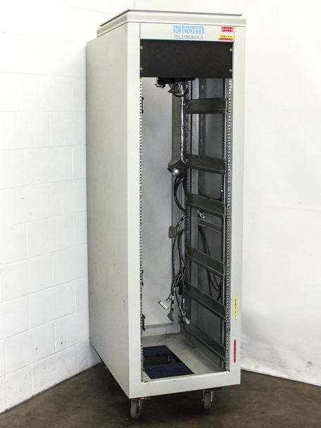 """Varian 19"""" Rackmount Chassis Enclosure Cabinet 36"""" x 24"""" x 73"""" Tall (38U)"""
