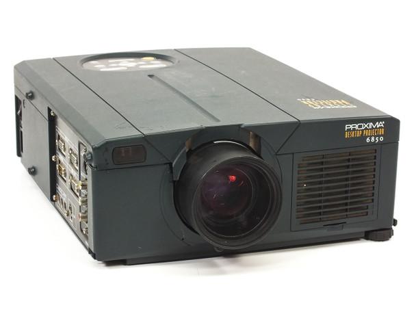 Proxima DP6850 Desktop LCD Projector 1024x768 4:3 - Cracked Plastic - As Is