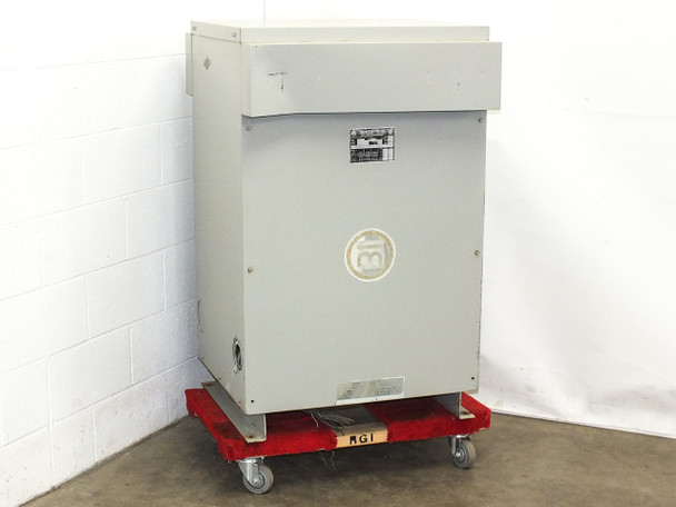 Matra Electric 175kVA Dry Type Transformer PRI:480 Delta SEC:480Y/266 (6175432L)