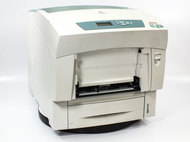 Xerox 6200B Phaser Color Laser Printer 16PPM w/ USED Toner Cartridges - AS IS