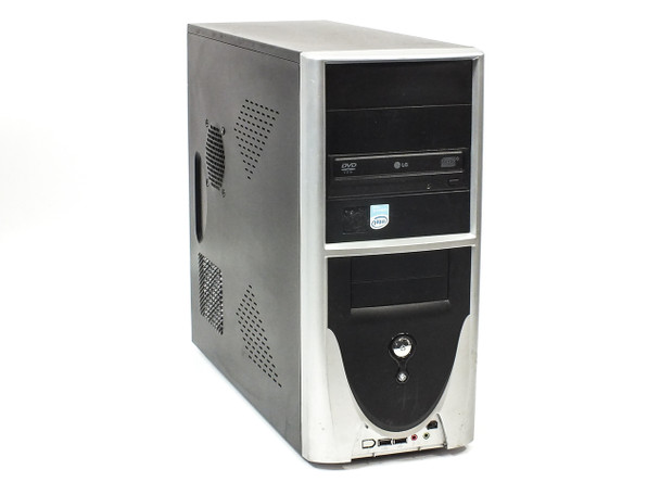 Desktop PC Computer Intel Celeron D 2.53 GHz 256MB RAM 80GB HDD CD-RW/DVD-ROM
